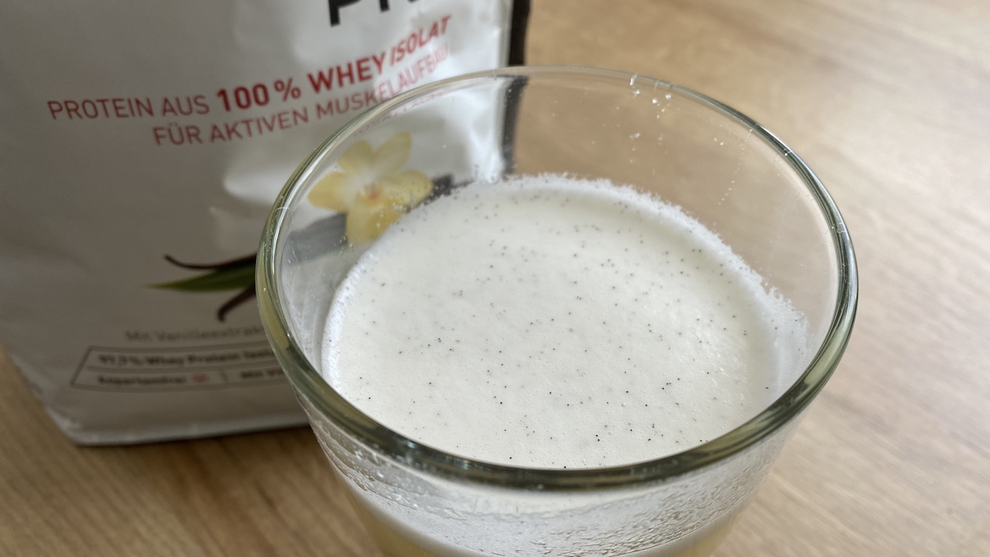 MaxiNutrition Whey-Protein Test
